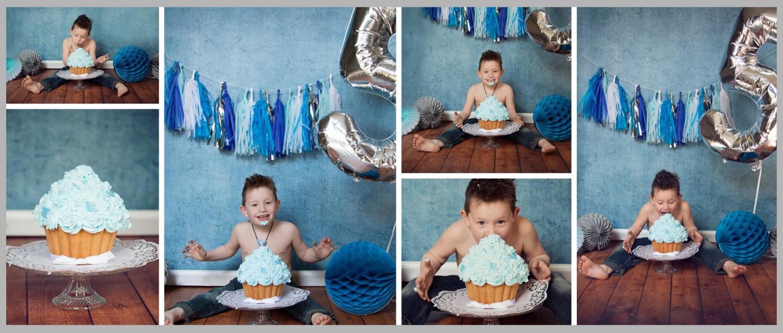 Milou Briels fotografie, taartje gooien, cakesmash